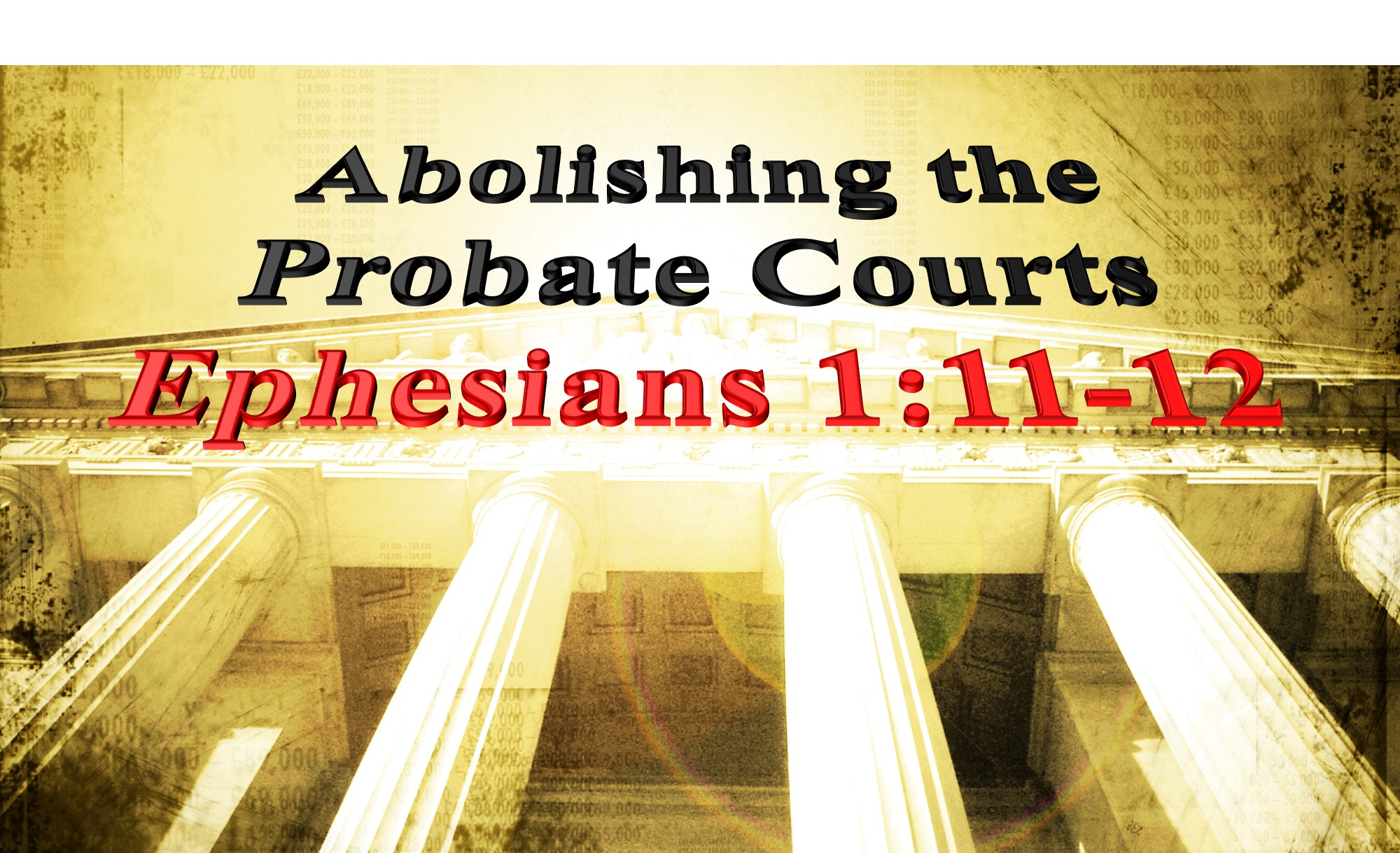 Abolishing the Probate Courts