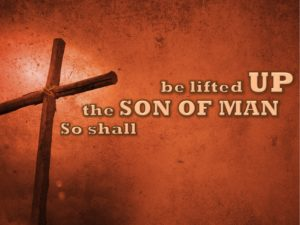 So Shall the Son of Man be Lifted Up