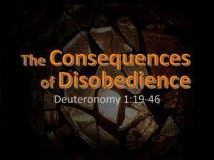 The Consequences of Disobedience (2)
