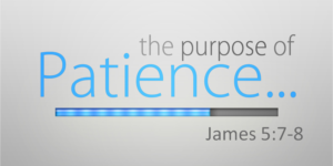 The Purpose of Patience (James 5:7-8)